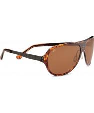 Serengeti Alice brillante de carey oscuro polarizado gafas de sol de los conductores phd