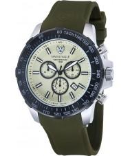 Swiss Eagle SE-9065-09 Para hombre reloj cronógrafo Herzog verde