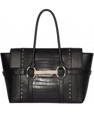 Fiorelli FH8714-BLACKCROC Bolso de la barbacoa de las señoras