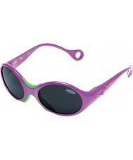 Cebe 1973 (edad 1-3) metálicos de color rosa 2000 gafas de sol grises