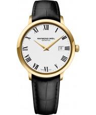Raymond Weil 5488-PC-00300 Reloj para hombre de la correa de cuero negro tocata