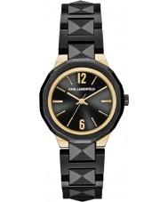 Karl Lagerfeld KL3401 reloj negro Joleigh