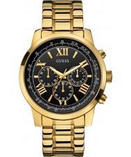 Guess W0379G4 Para hombre chapado en oro horizonte reloj cronógrafo