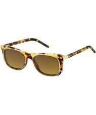 Marc Jacobs Marc 17-s U63 vo gafas de sol de oro Habana
