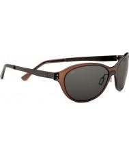 Serengeti cristalinas Giustina gafas de sol polarizadas CpG phd de color marrón oscuro