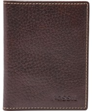 Fossil ML3688200 Billetera para hombre lincoln