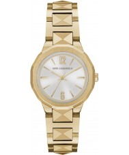 Karl Lagerfeld KL3403 reloj de oro plata Joleigh