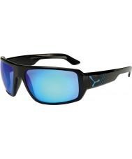 Cebe Maoríes brillantes gafas de sol azules negras