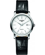 Roamer 709844-41-25-07 Reloj para hombre de la correa de cuero negro línea clásica