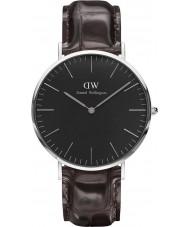 Daniel Wellington DW00100134 reloj de 40 mm york negro clásico
