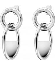 Calvin Klein KJ8GME000100 Pendientes con cierre de mujer
