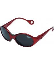 Cebe 1973 (edad 1-3) rubidio y brillante de color rojo 2000 gafas de sol grises