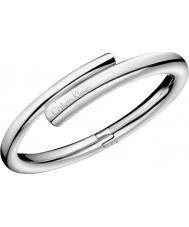 Calvin Klein KJ5GMD00010M Damas perfuman el brazalete de acero de plata - tamaño de m