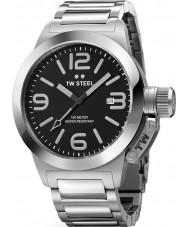 TW Steel TW0300 reloj de pulsera de plata negro cantina