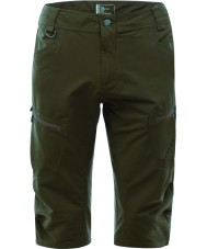 Dare2b DMJ337-3C4033 Mens sintonizados en tres cuartos de camuflaje pantalones cortos verdes - sm tamaño (33in)