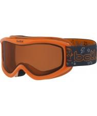 Bolle 21515 Amp naranja del monstruo - cítricos oscuras gafas de esquí - 3-8 años