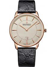 Dreyfuss and Co DGS00139-46 Reloj para hombre de la correa de grano del croco marrón