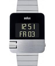 Braun BN0106SLBTG Para hombre de prestigio tono plateado reloj cronógrafo