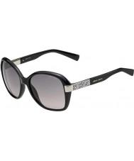 Jimmy Choo Señoras alana-D28 s eu brillantes gafas de sol negras