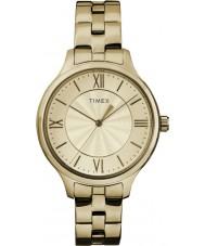 Timex TW2R28100 Reloj estilo peyton con estilo de las señoras