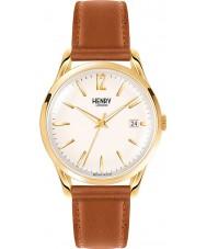 Henry London HL39-S-0012 reloj de color marrón pálido champán Westminster