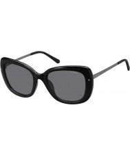 Polaroid Señoras pld4044-s cvs Y2 rutenio negro gafas de sol polarizadas
