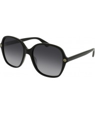 Gucci Gafas de sol gg0092s 001 de las señoras