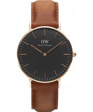 Daniel Wellington DW00100138 reloj de 36 mm Durham negro clásico