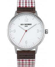 Ben Sherman WB062WUR reloj para hombre de algodón barato portobello
