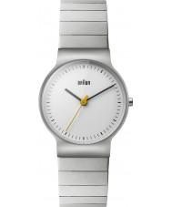 Braun BN0211SLBTL Reloj para hombre pulsera de plata de acero delgado clásico