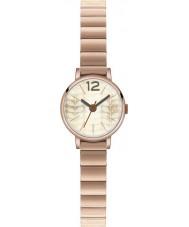 Orla Kiely OK4016 Frankie damas reloj de oro rosa plateado