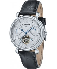 Thomas Earnshaw ES-8046-02 Reloj para hombre de la correa de cuero negro gran calandra