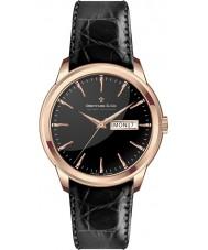 Dreyfuss and Co DGS00129-04 Reloj para hombre de la correa de grano del croco negro