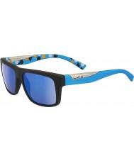 Bolle Clint negro mate azul gb-10 gafas de sol polarizadas