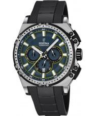Festina F16970-3 Para hombre en bicicleta crono de caucho negro reloj cronógrafo