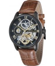 Thomas Earnshaw ES-8006-10 Reloj para hombre de cuero marrón automático de longitud