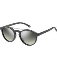Marc Jacobs Marc-107 gy s DRD gafas de sol de espejo de plata gris oscuro