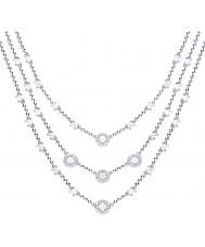 Diamonfire N4252 Collar brillante de mujer
