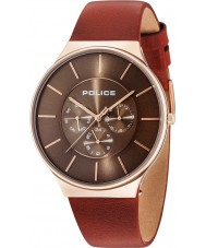 Police 15044JSR-12 Reloj de cuero para hombre