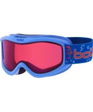 Bolle 21518 gafas de esquí vermillon - - monstruo azul de amplificador de 3-8 años