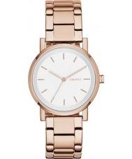 DKNY NY2344 Las señoras se levantaron Soho reloj de oro