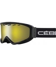 Cebe CBG67 Infinity OTG negro - gafas de esquí espejo de destello amarillo