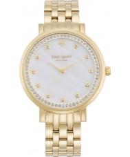 Kate Spade New York 1YRU0821 Damas monterey oro plateado reloj pulsera