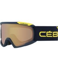 Cebe CBG93 Fanático l azul y amarillo - variochrom NXT perfo 1-3 gafas de esquí