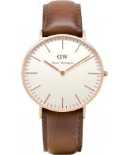 Daniel Wellington DW00100035 Damas clásico de los varones de 36 mm reloj de oro rosa