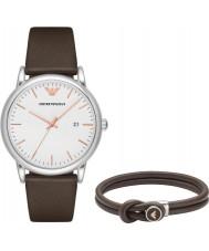 c8a0c0c18fba Emporio Armani AR80006 Reloj de hombre y pulsera de regalo.