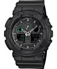 Casio GA-100MB-1AER Mens G-SHOCK reloj de correa de resina de color negro mate