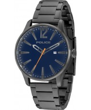 Police 14764JSU-03M Mens Dallas gris acero reloj pulsera