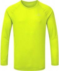 Ronhill Camiseta delantera de la manga del movimiento delantero de los hombres