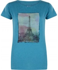 Dare2b Señoras torre sobre esmalte azul marl camiseta
